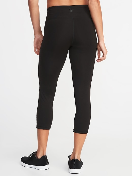 Mid-Rise Elevate Compression Crops for Women