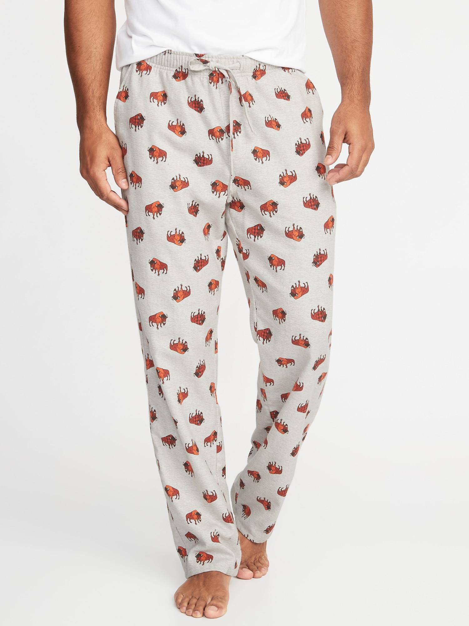 Patterned Flannel Sleep Pants for Men  bdf6b8c50