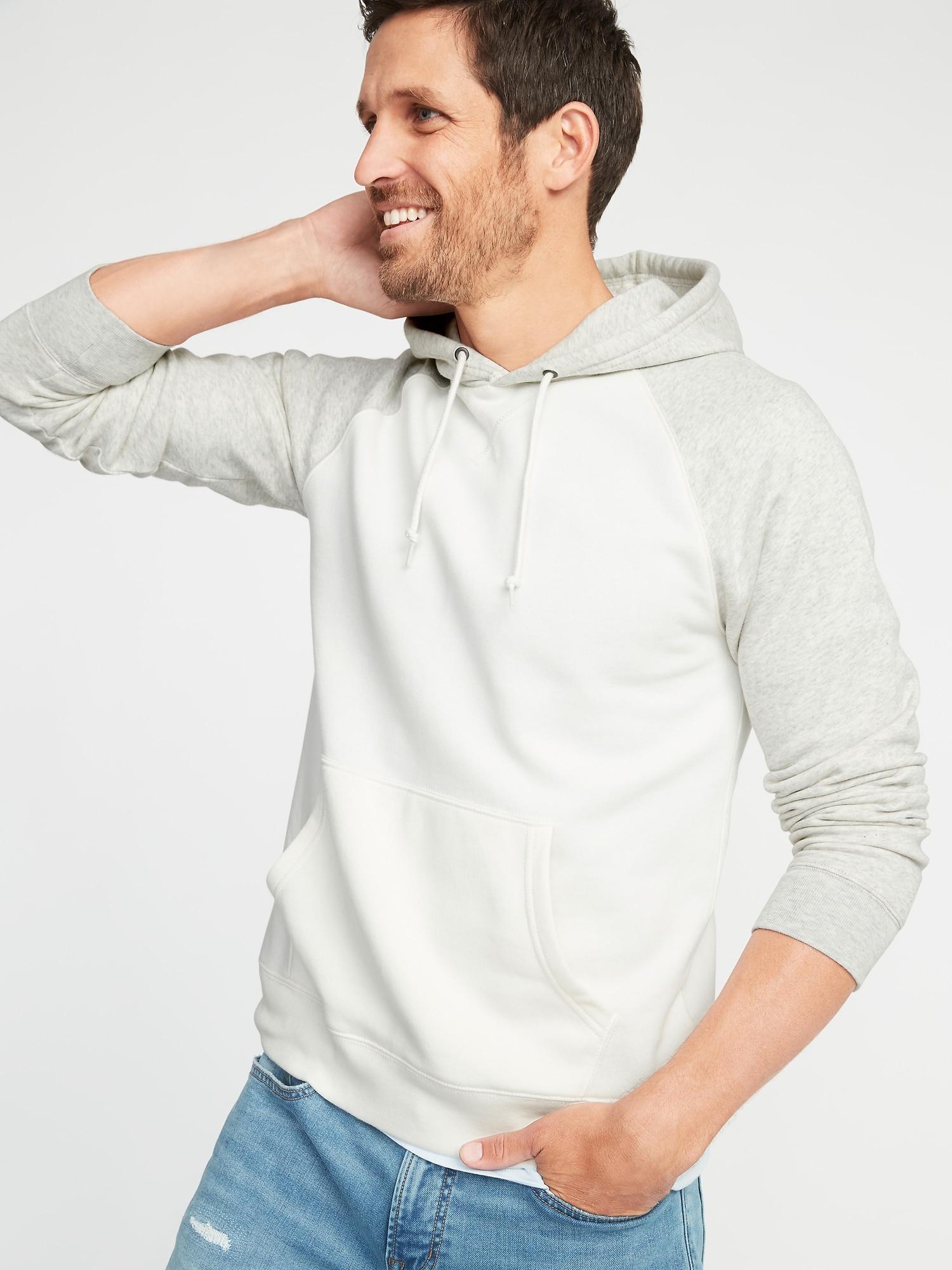 1c07ba5b Color-Blocked Pullover Raglan Hoodie for Men | Old Navy