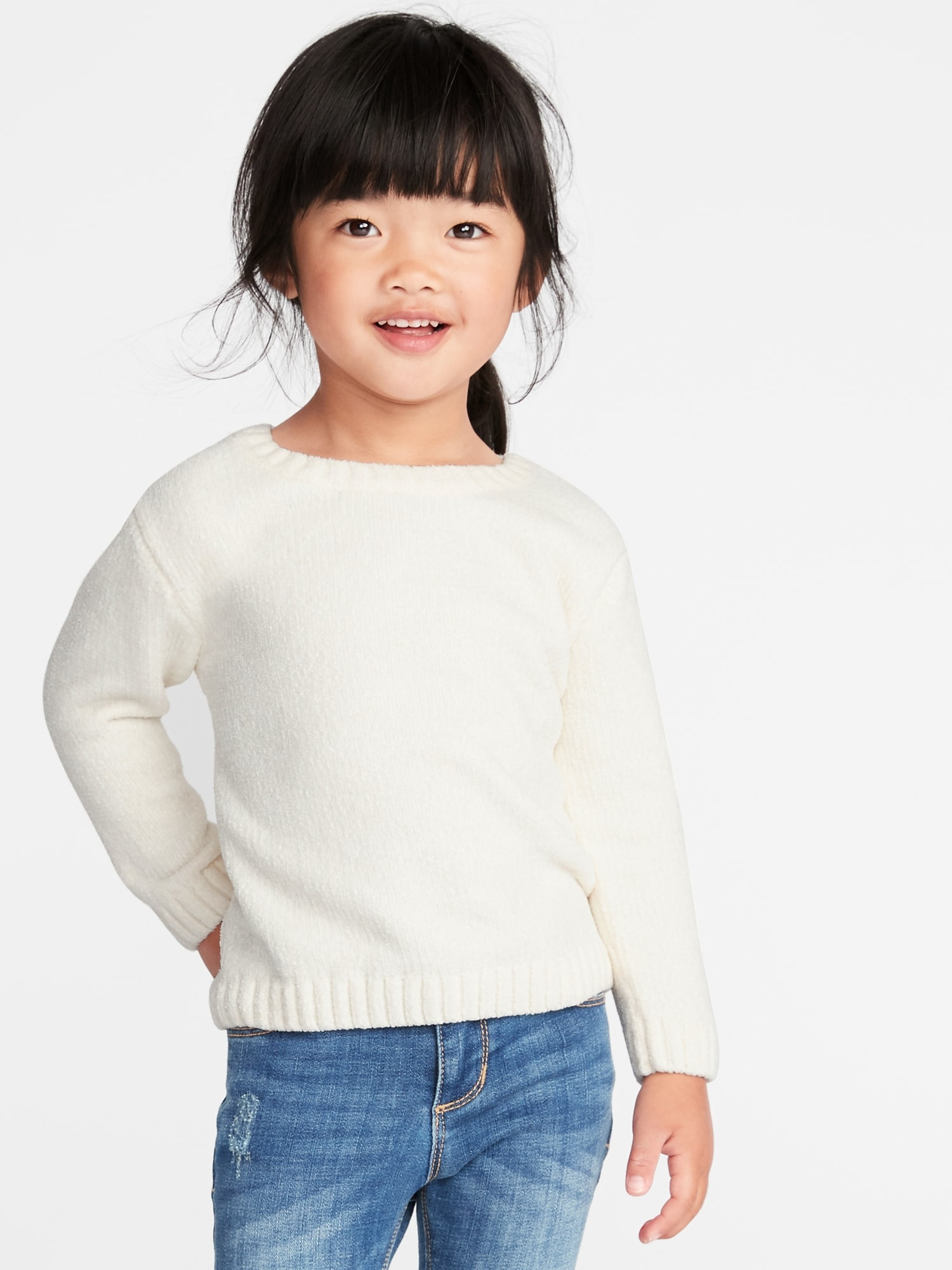 b071a6fa8 Chenille Sweater for Toddler Girls