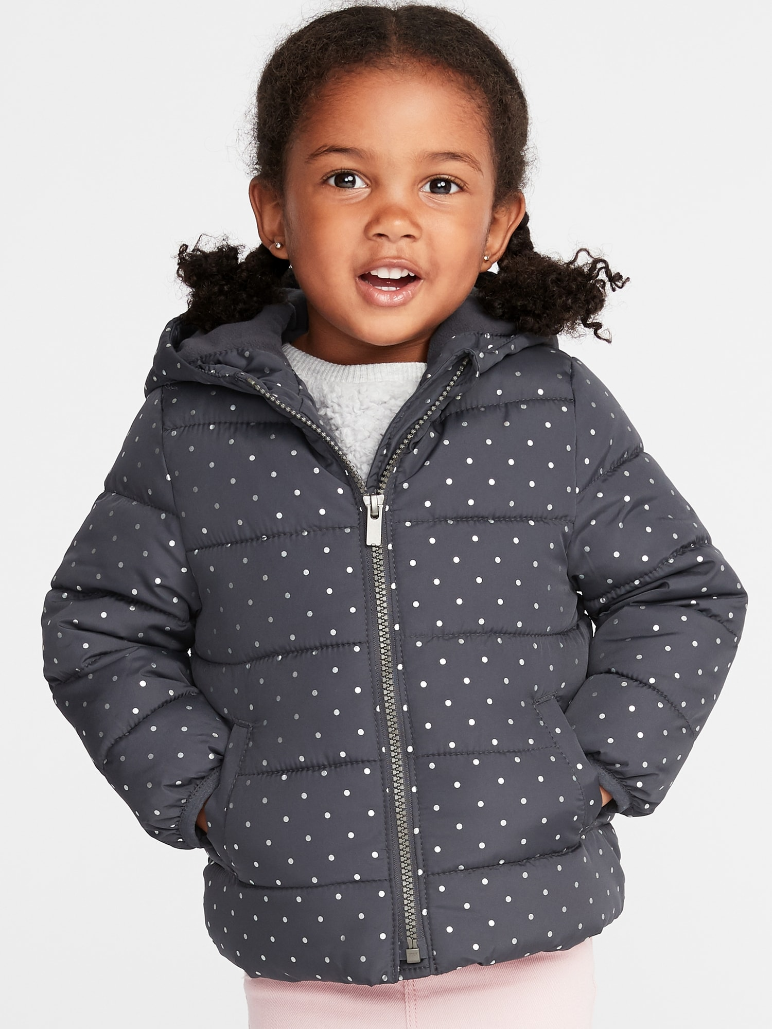 e30bbad19 Hooded Frost-Free Jacket for Toddler Girls