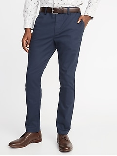Athletic Ultimate Built-In Flex Non-Iron Chinos for Men