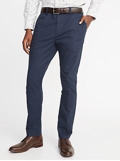Pantalon sans repassage Built-In Flex Ultimate, coupe athlétique pour homme
