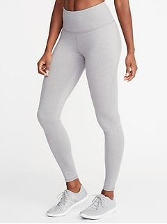 High-Waisted Soft-Brushed Elevate Compression Leggings For Women