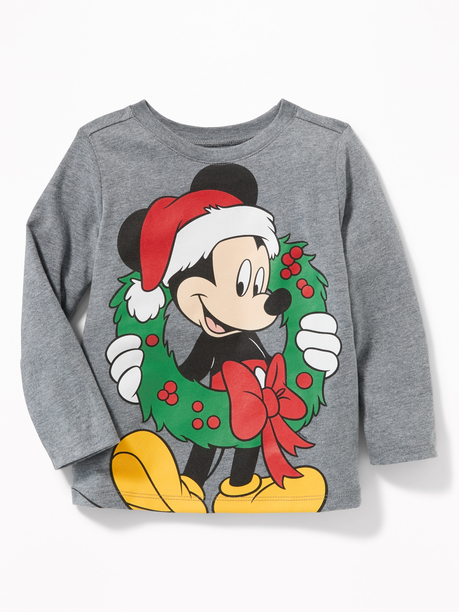 Disney© Mickey Mouse Christmas Tee for Toddler Boys | Old Navy