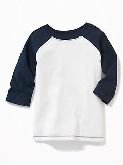 Unisex Raglan-Sleeve Baseball Tee for Toddler
