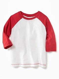 T-shirt à manches raglan pour tout-petit garçon