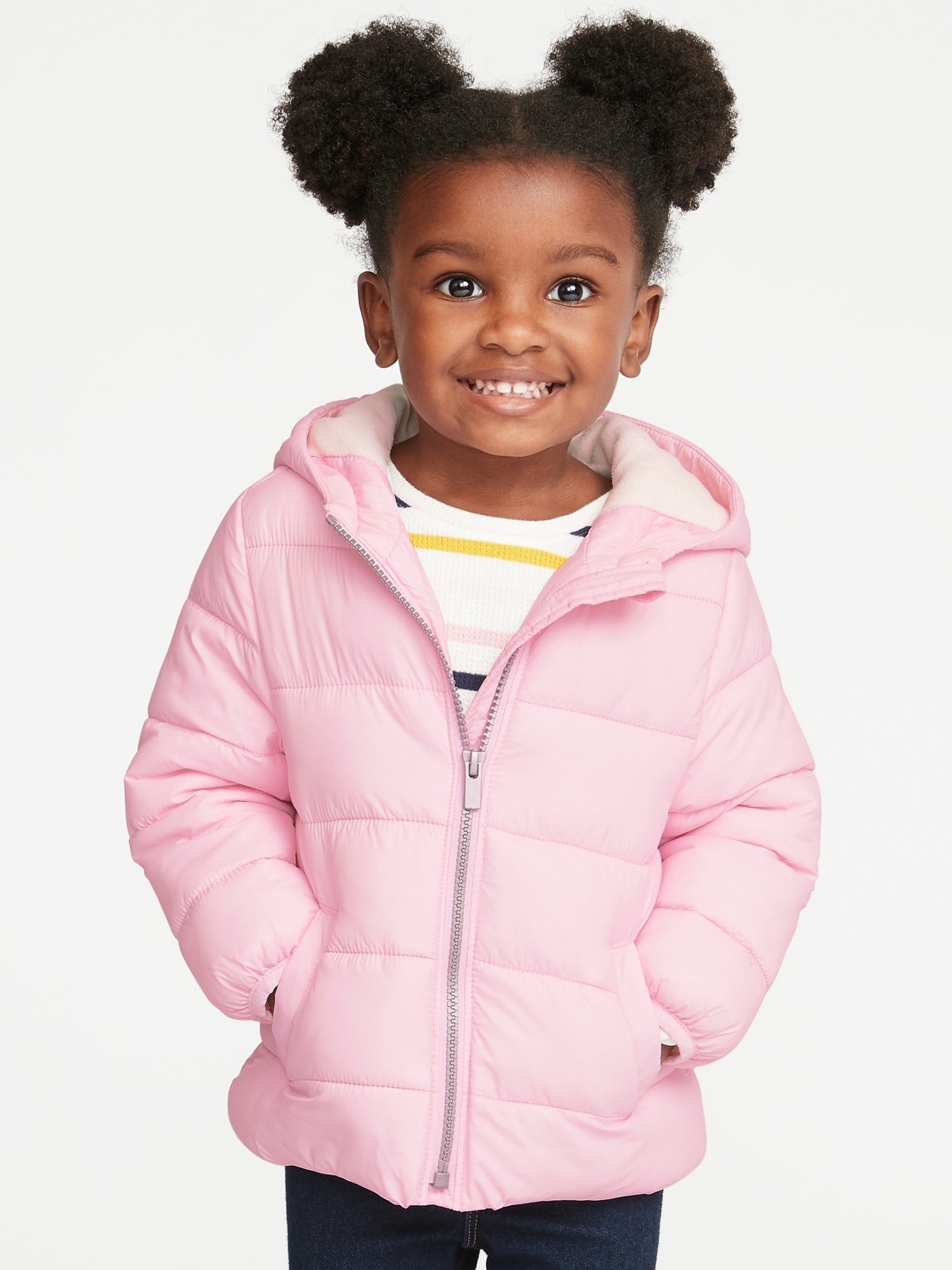 443b635de0a5 Hooded Frost-Free Jacket for Toddler Girls