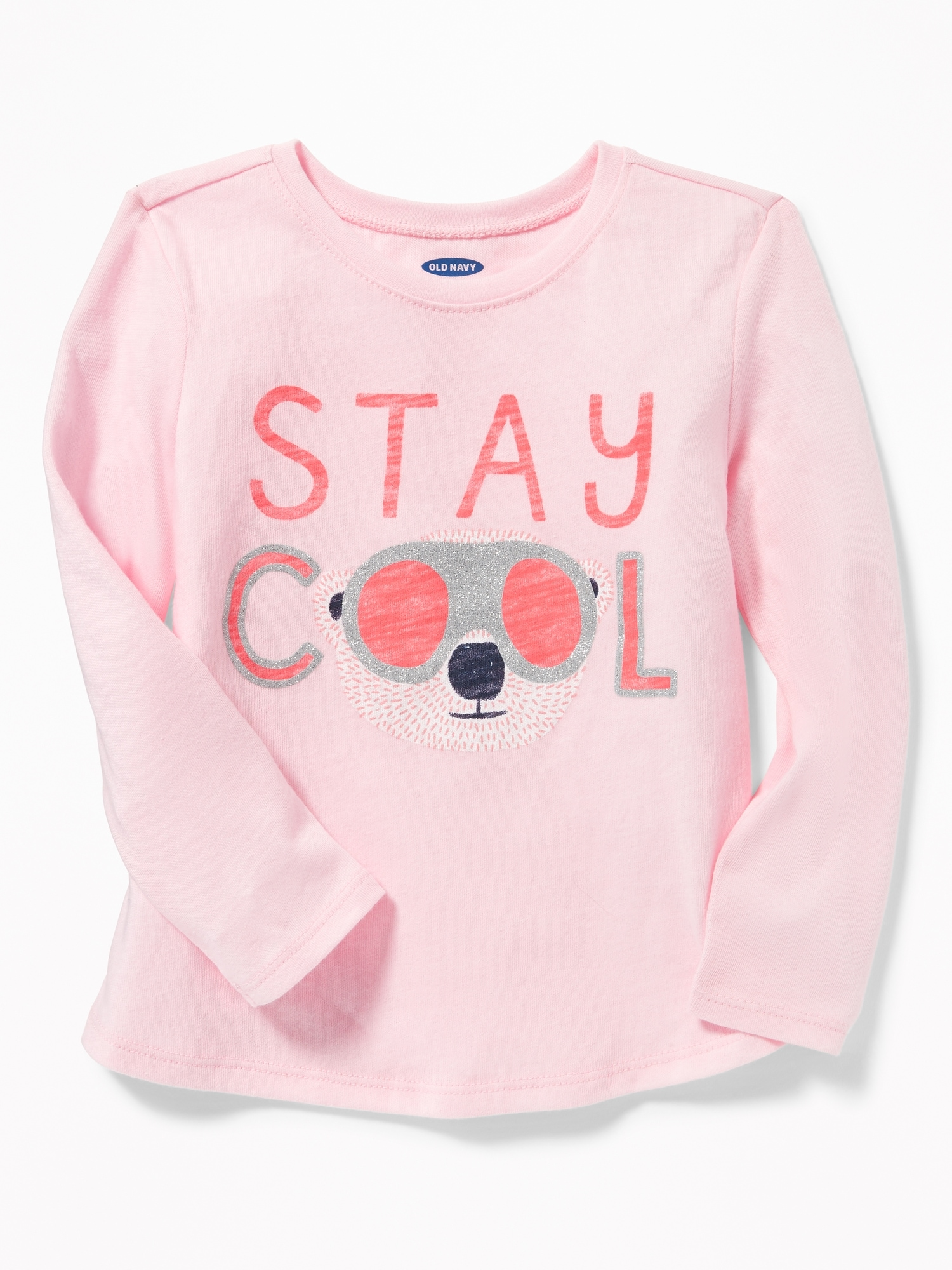 63d03466e855 Graphic Long-Sleeve Tee for Toddler Girls