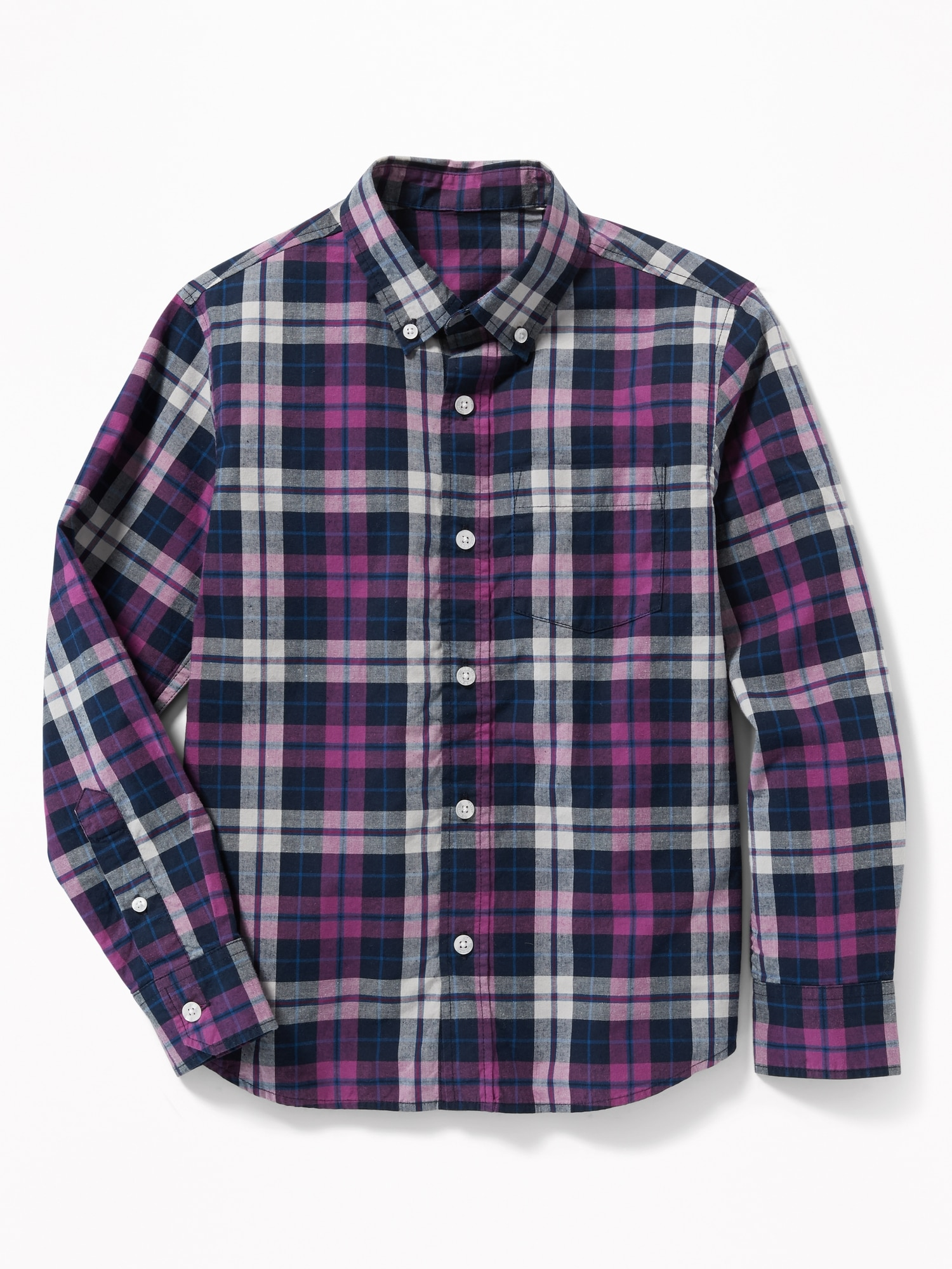 3da6bafd Plaid Built-In Flex Classic Shirt for Boys | Old Navy