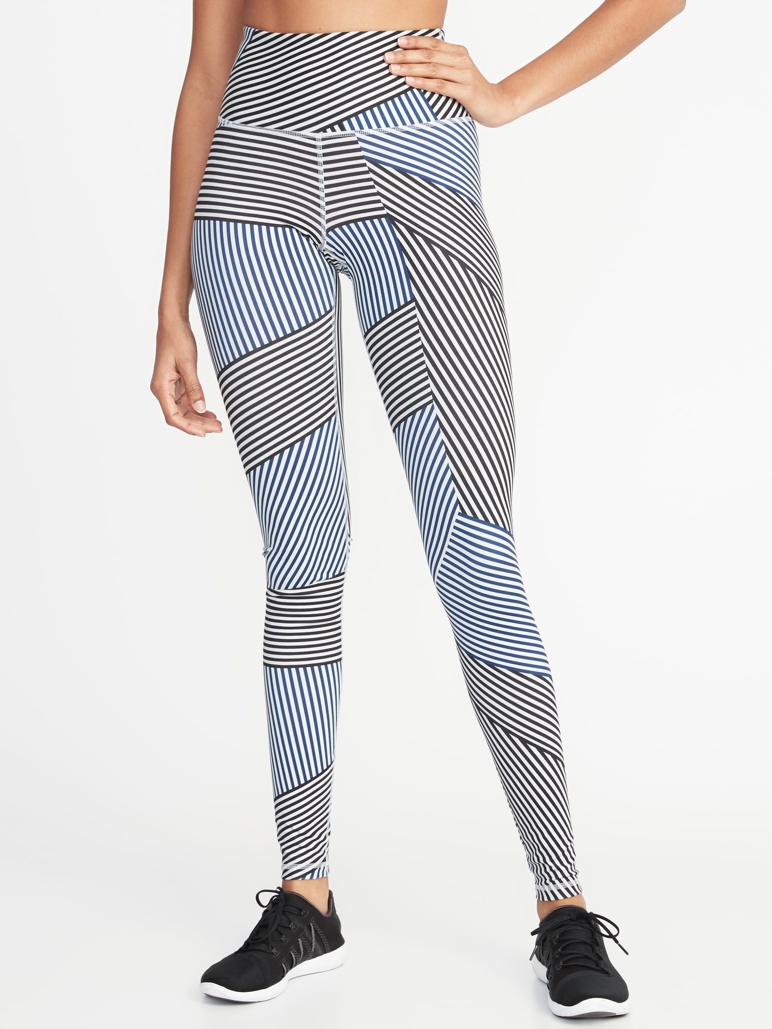29451fcfb5 High-Rise Printed Elevate Compression Leggings for Women | Old Navy