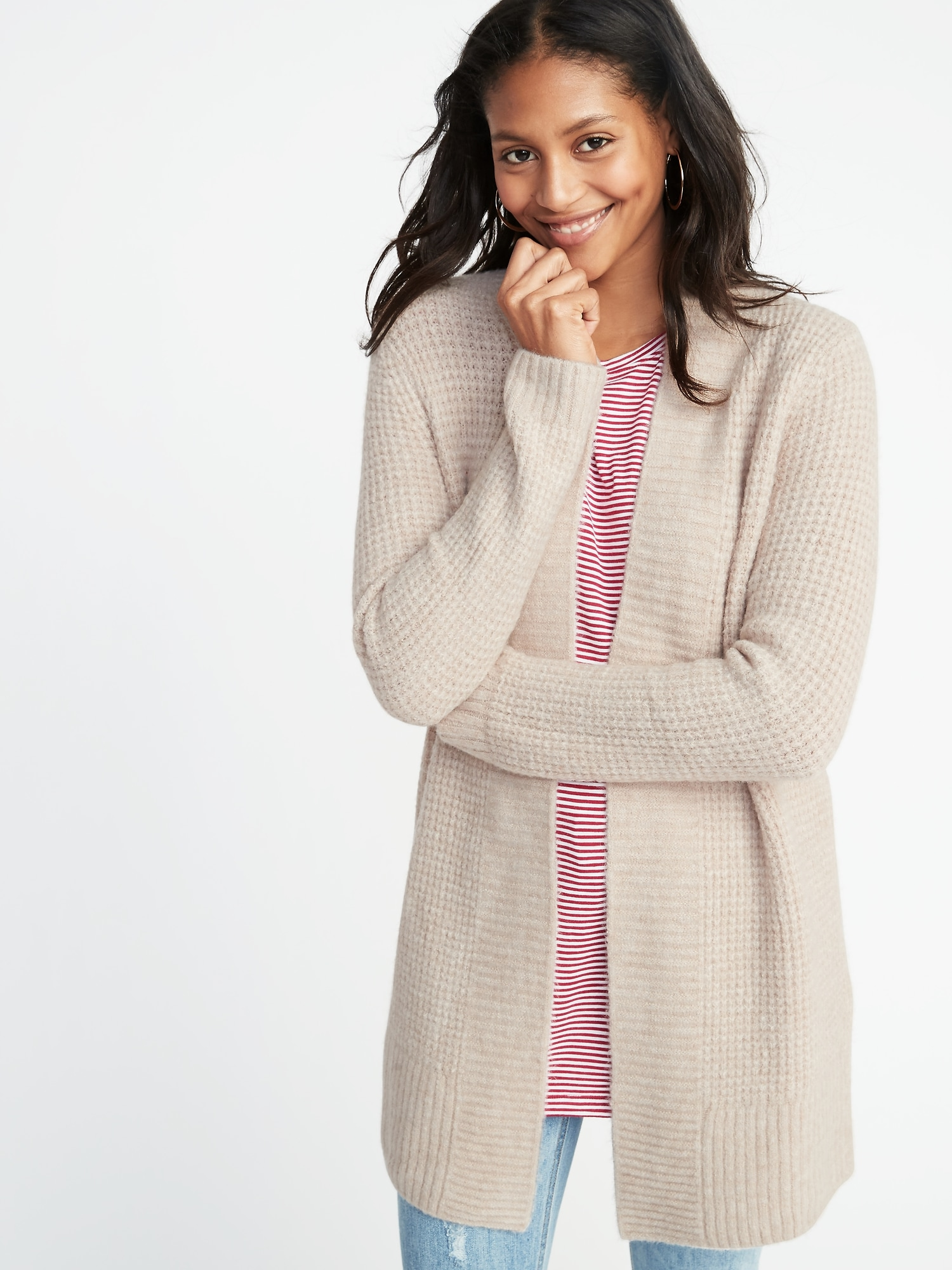 17364d9a918497 Open-Front Thermal Sweater for Women | Old Navy