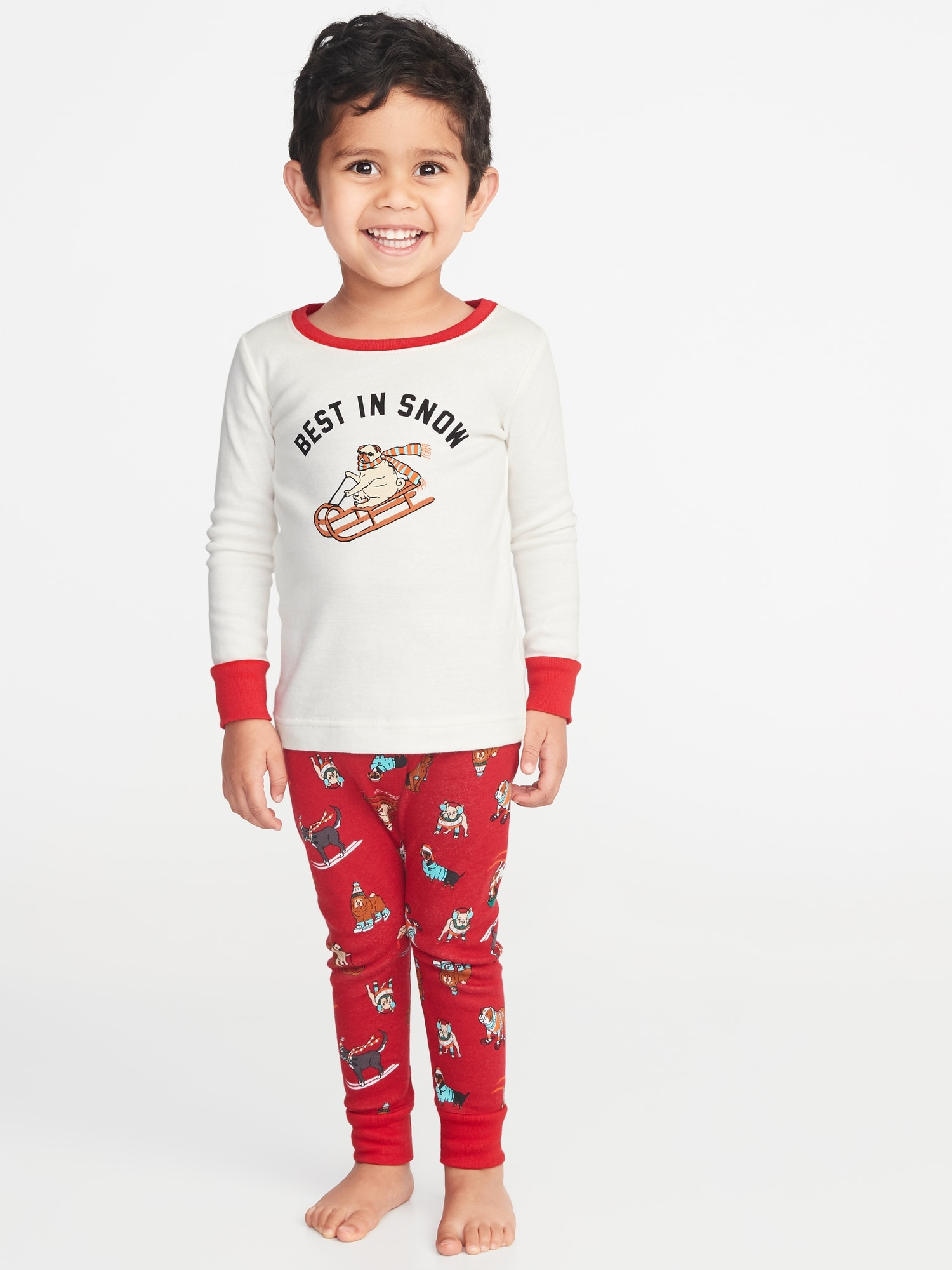 Holiday-Graphic Sleep Set for Toddler & Baby | Old Navy