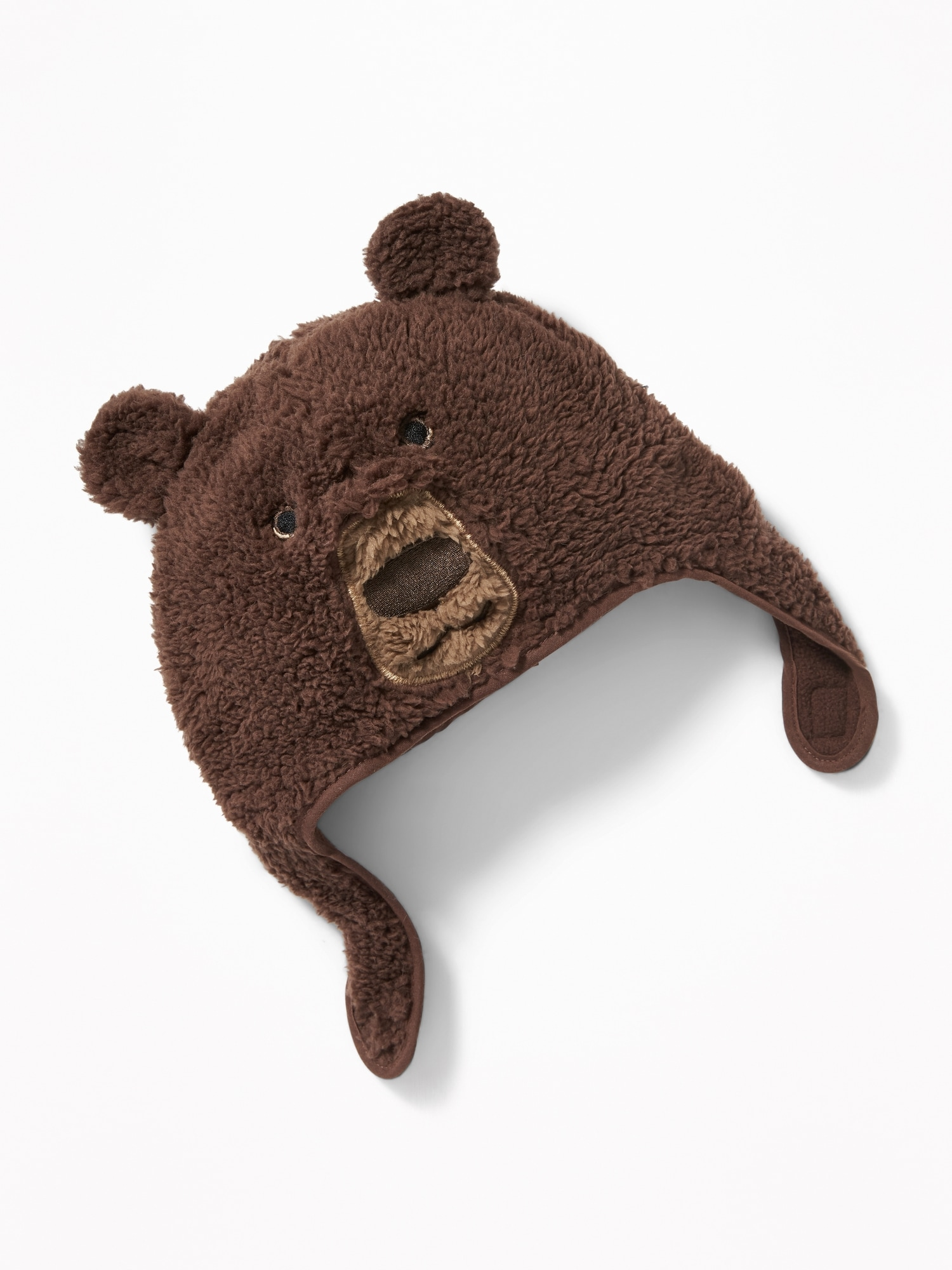 1746c7b1a01 Sherpa Bear Trapper Hat for Toddler Boys