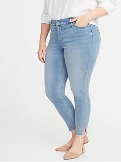 High-Waisted Secret-Slim Pockets + Waistband Built-In Warm Rockstar Super Skinny Plus-Size Jeans