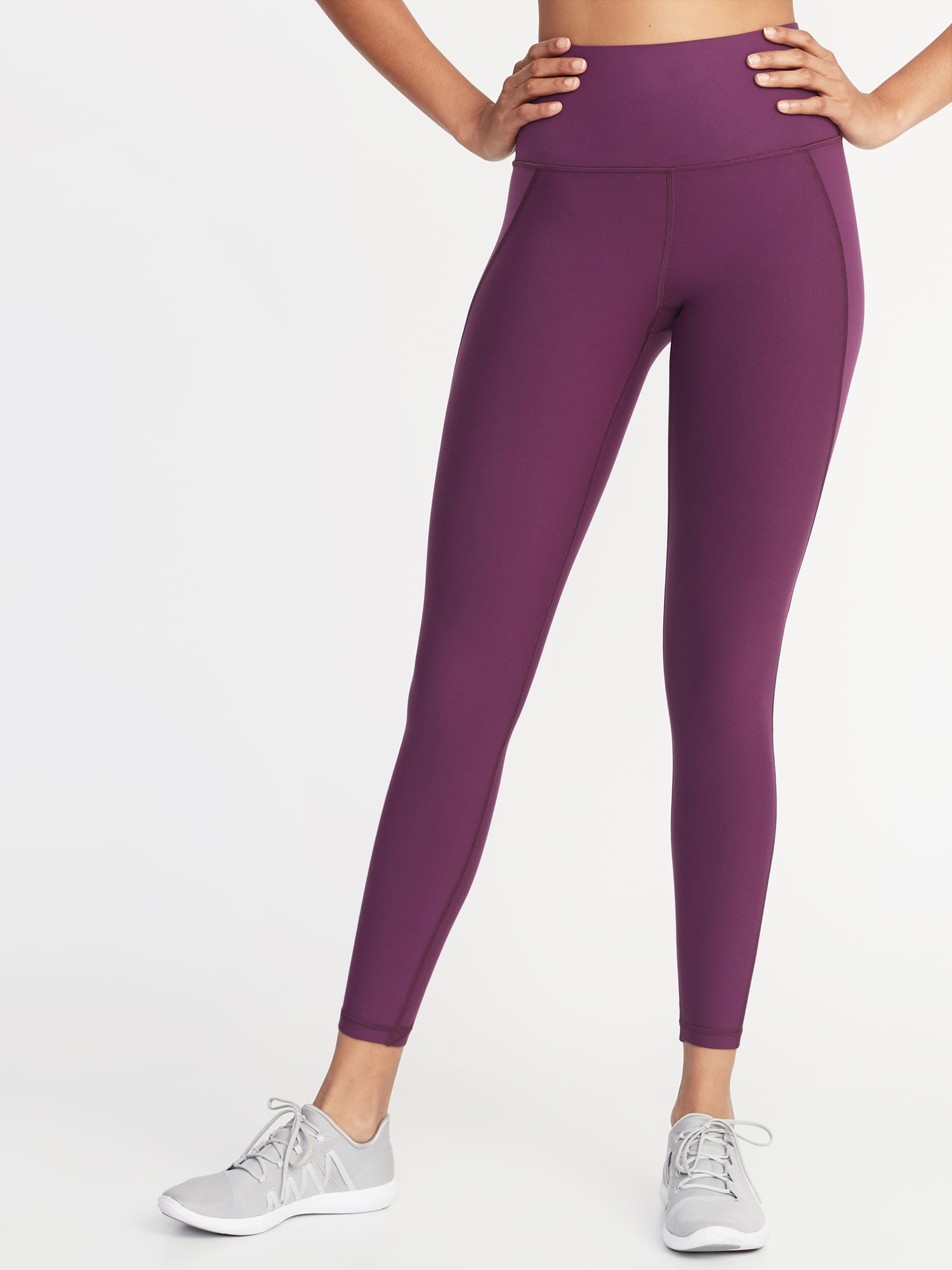 9d633c28aa2027 High-Rise Elevate Built-In Sculpt 7/8-Length Compression Leggings for Women