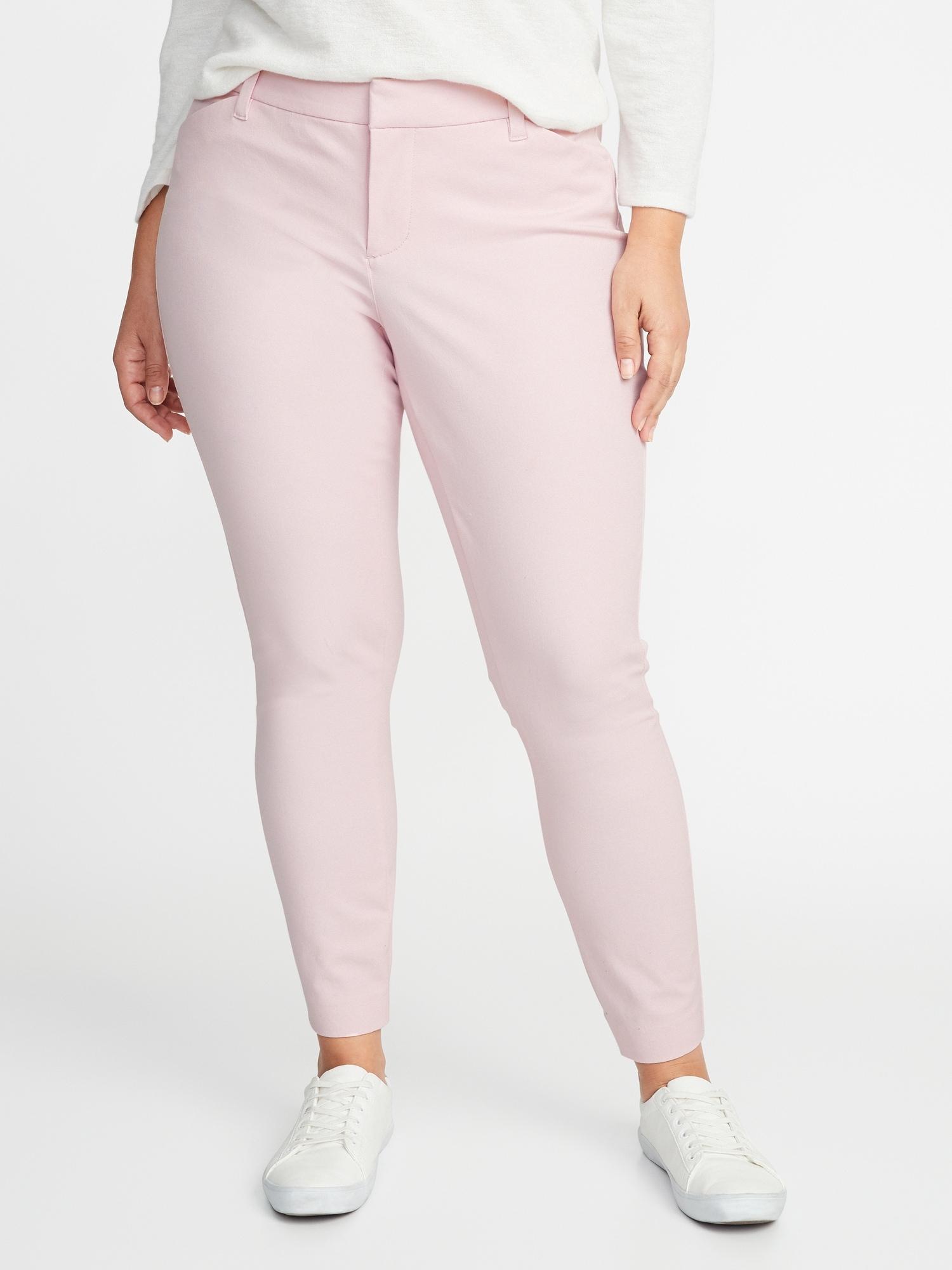 4d729441c Mid-Rise Secret-Slim Pockets Plus-Size Pixie Ankle Pants