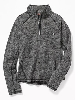 Go-Dry 1/4-Zip Pullover for Girls