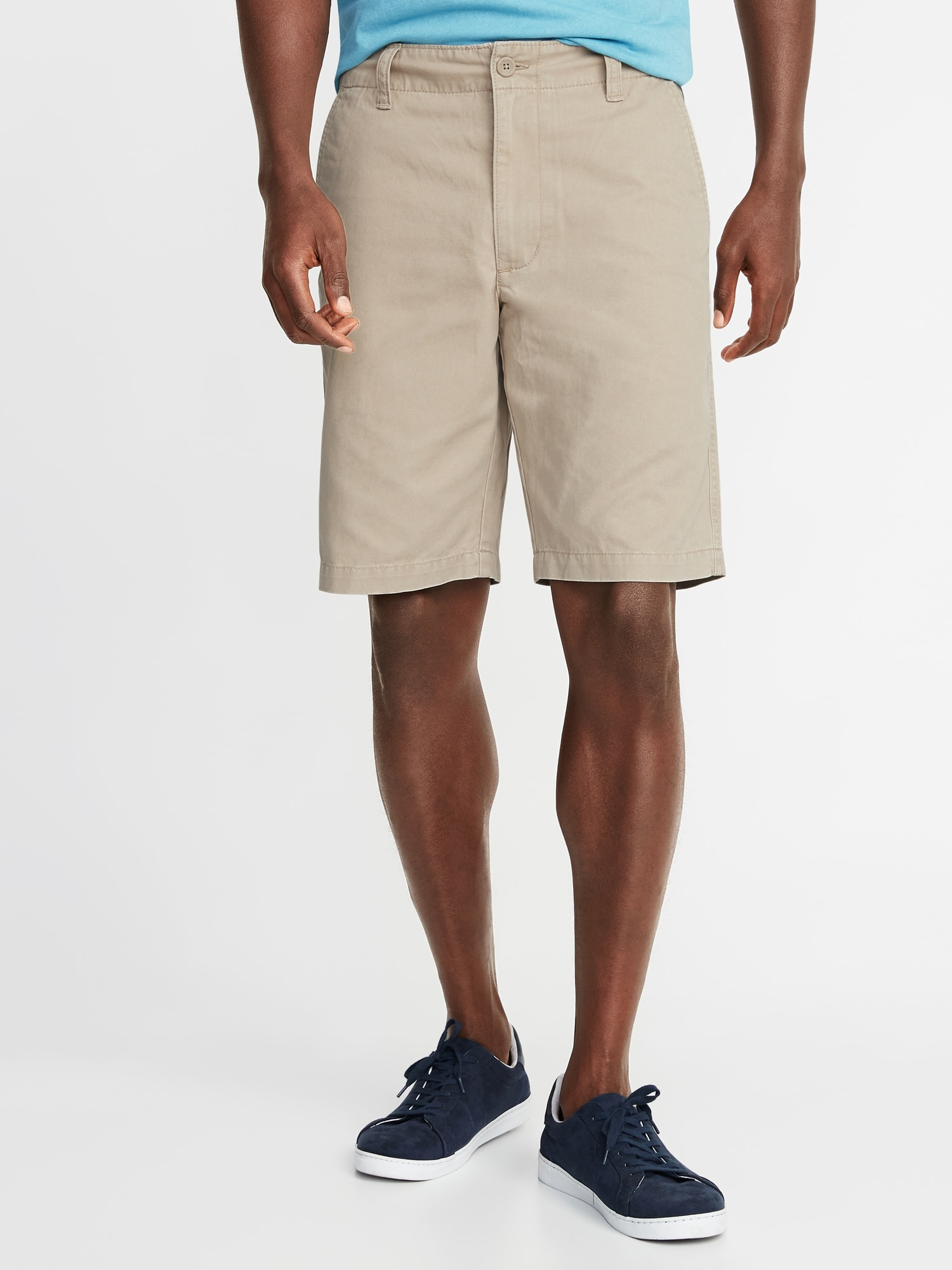 14babe28e9 Straight Lived-In Khaki Shorts for Men - 10-inch inseam | Old Navy