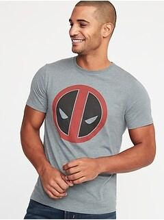 T-shirt imprimé Deadpool Marvel ComicsMC pour homme