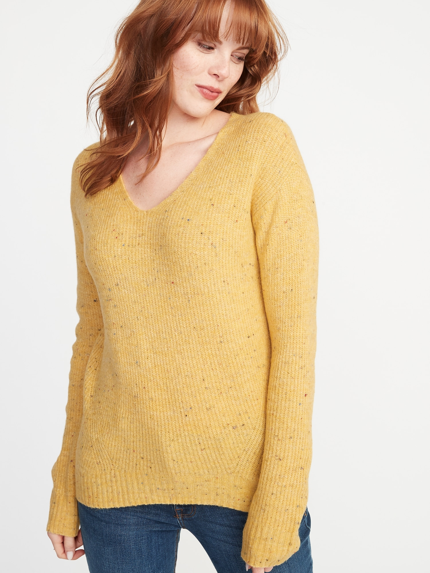Cozy V-Neck Sweater for Women  179d301be