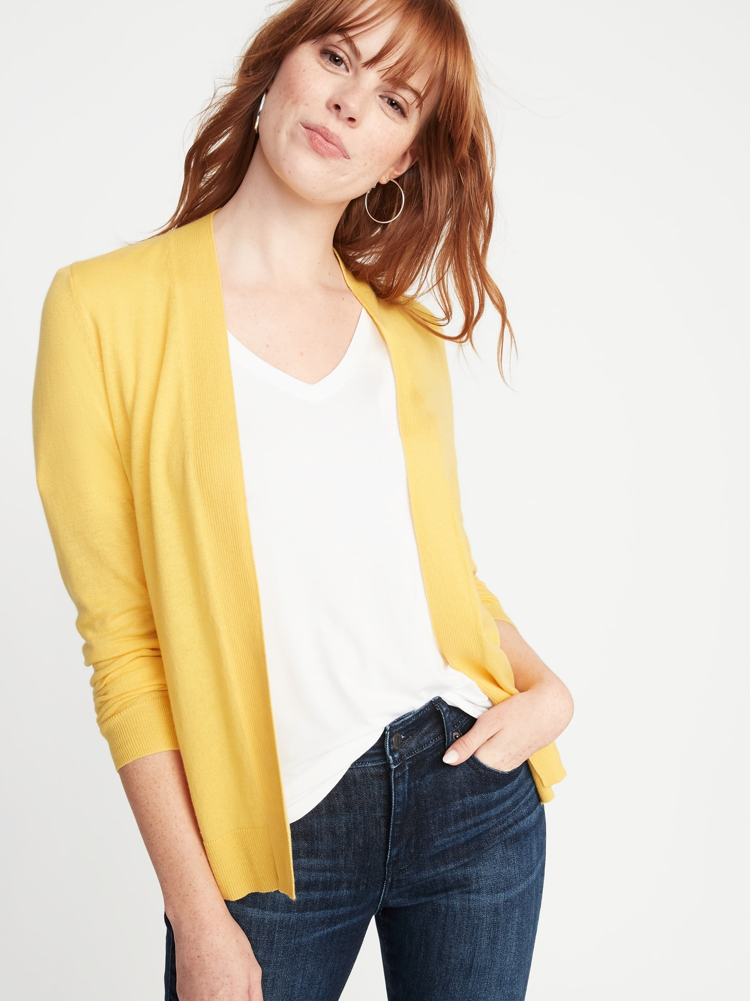 97dcd9cf5 Short Open-Front Sweater for Women | Old Navy