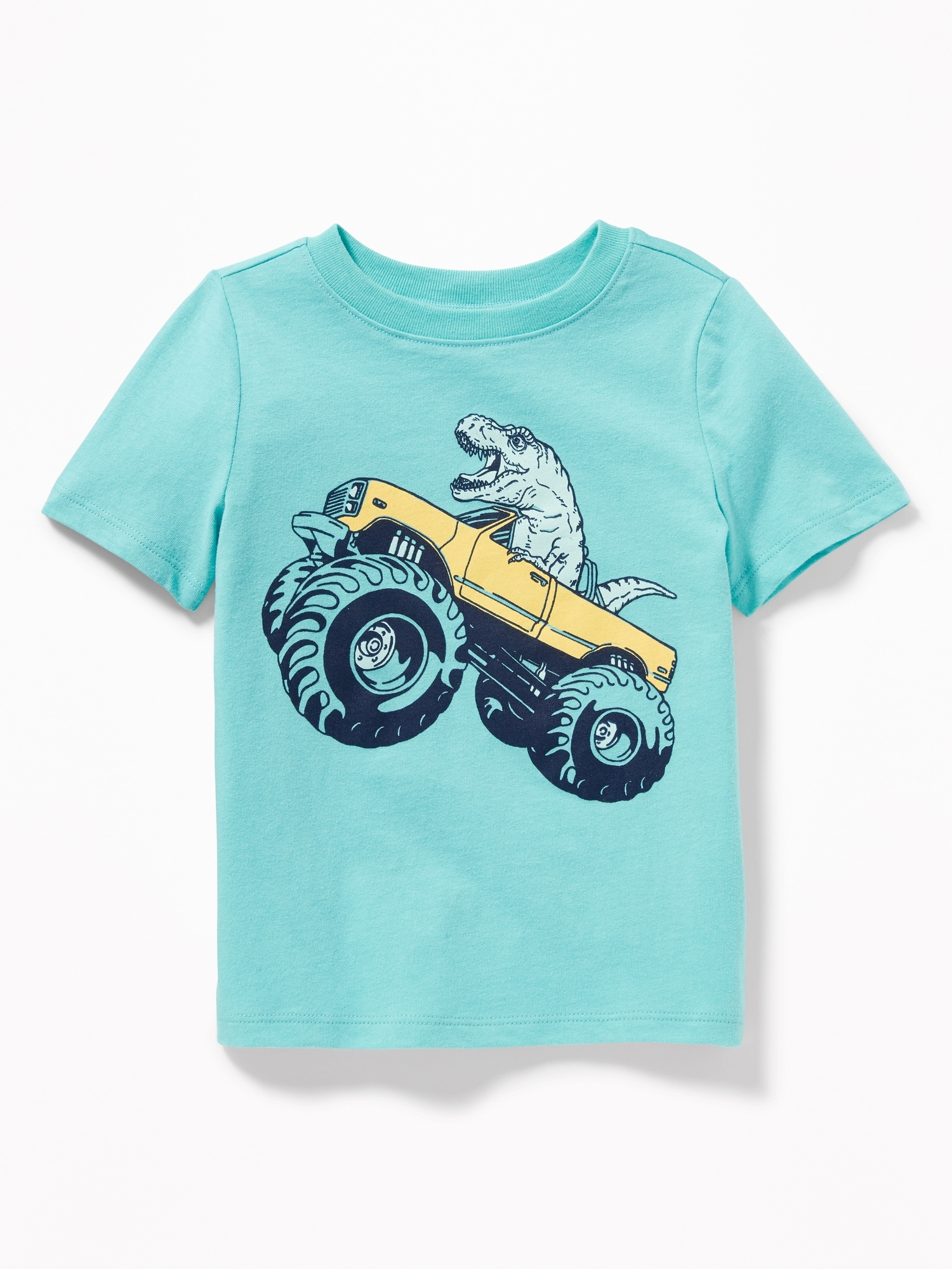 1257976d7c069 Graphic Crew-Neck Tee for Toddler Boys