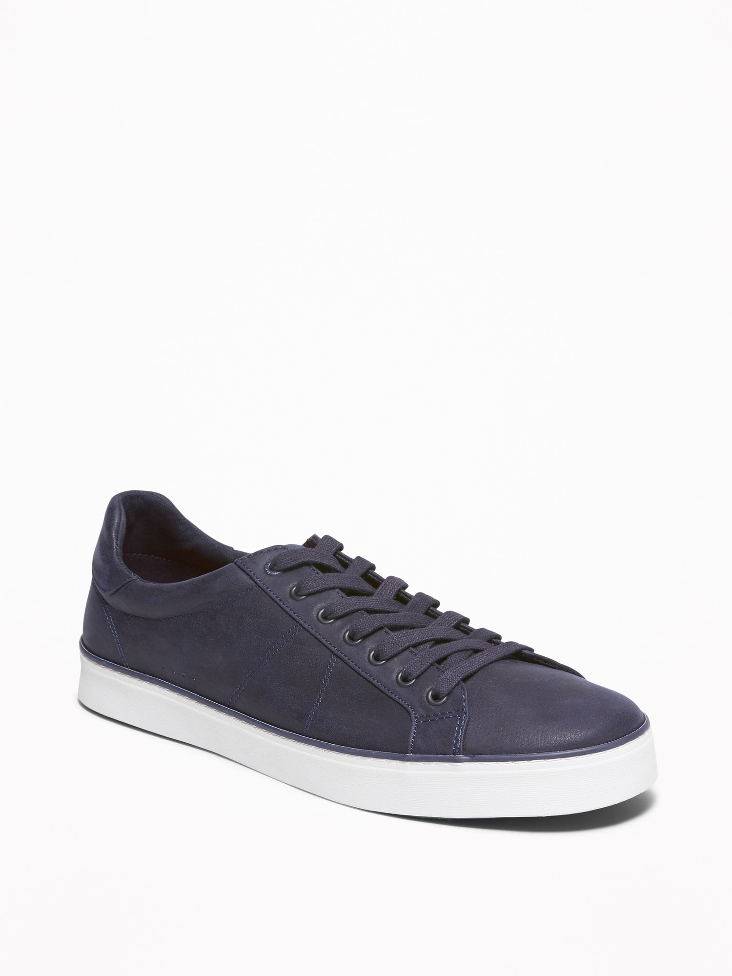 Faux-Leather Sneakers for Men | Old Navy