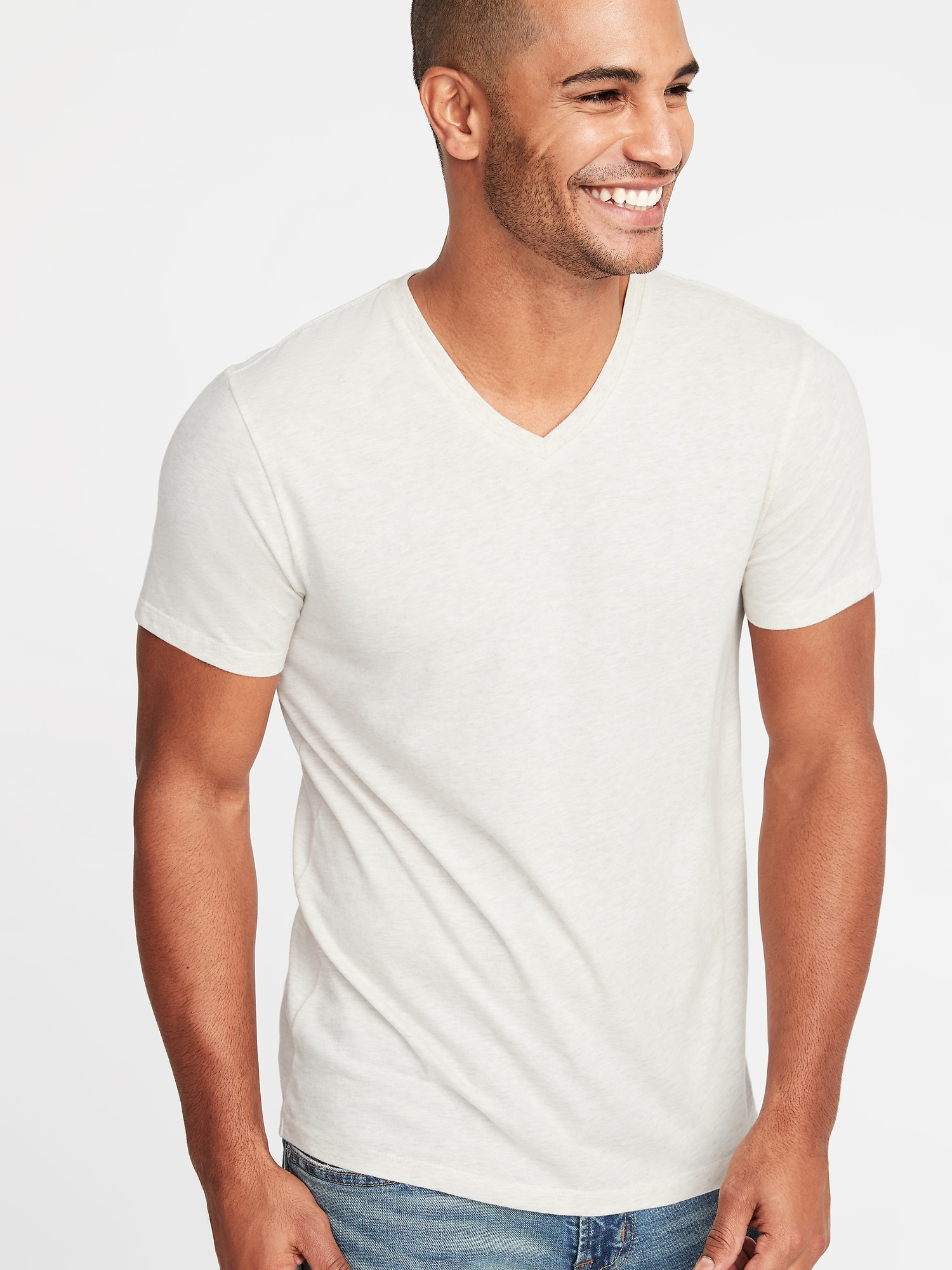 Soft Washed V Neck Tee For Men Old Navy