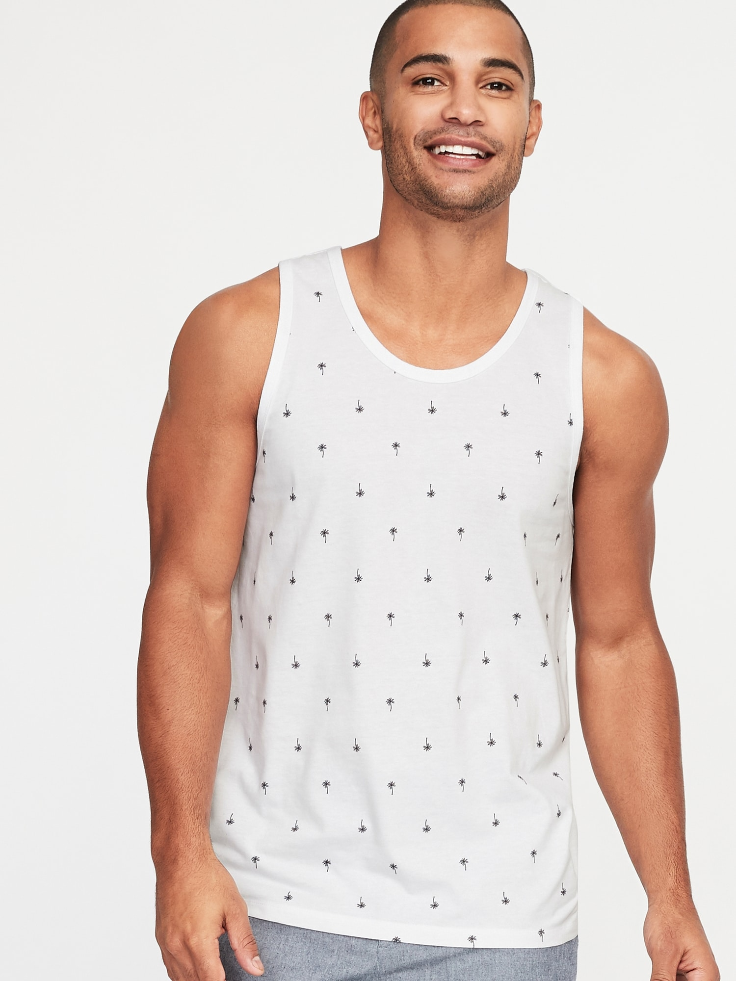 e25d020505 Soft-Washed Printed Tank for Men | Old Navy