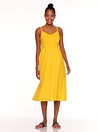 ffc480d0bf41 Fit   Flare Cami Midi Dress for Women