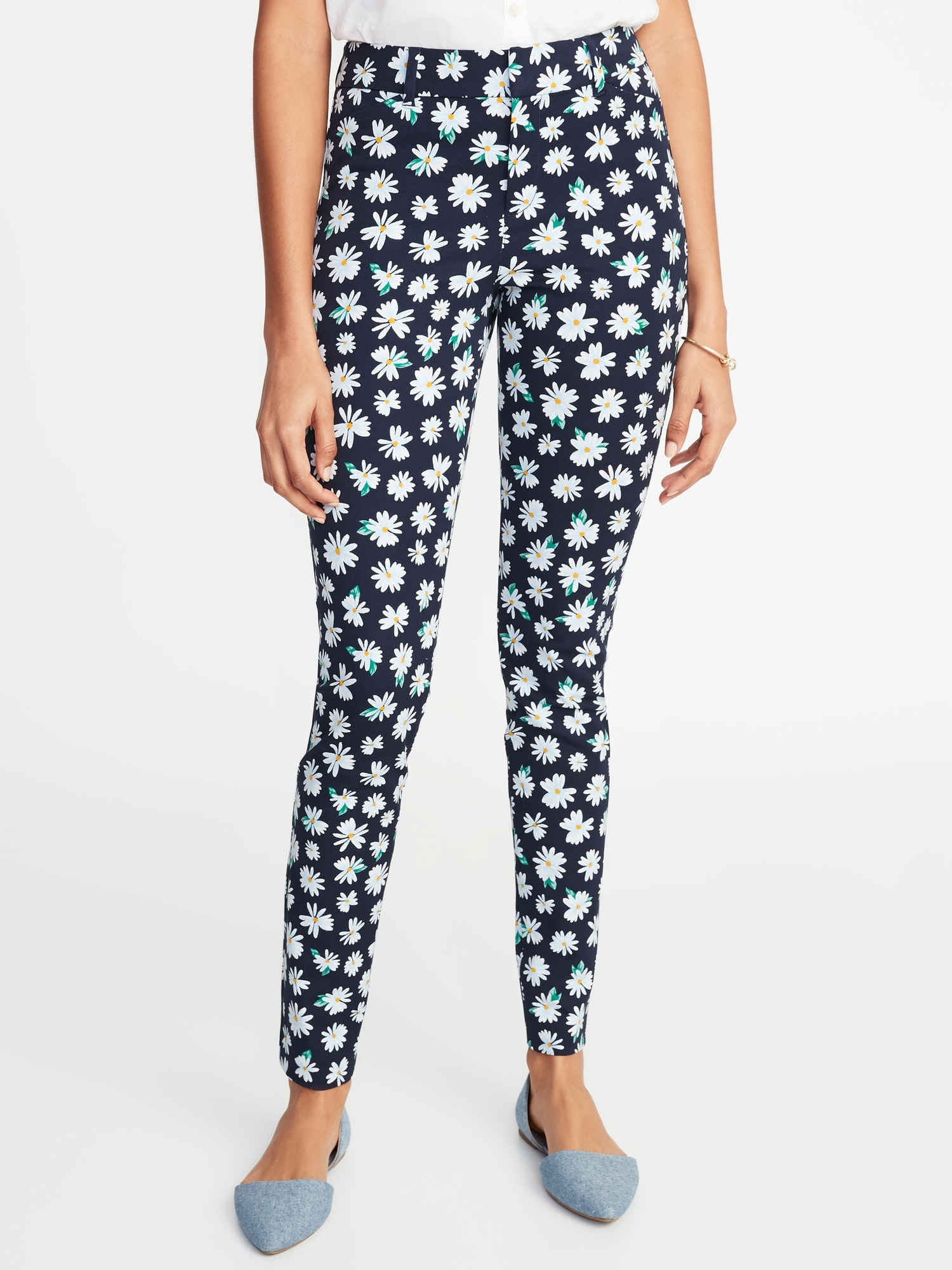 521706424a0860 Mid-Rise Printed Pixie Full-Length Pants for Women | Old Navy