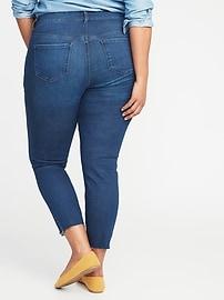 f24e4a7105848 High-Rise Secret-Slim Pockets Rockstar Super Skinny Plus-Size Jeans ...
