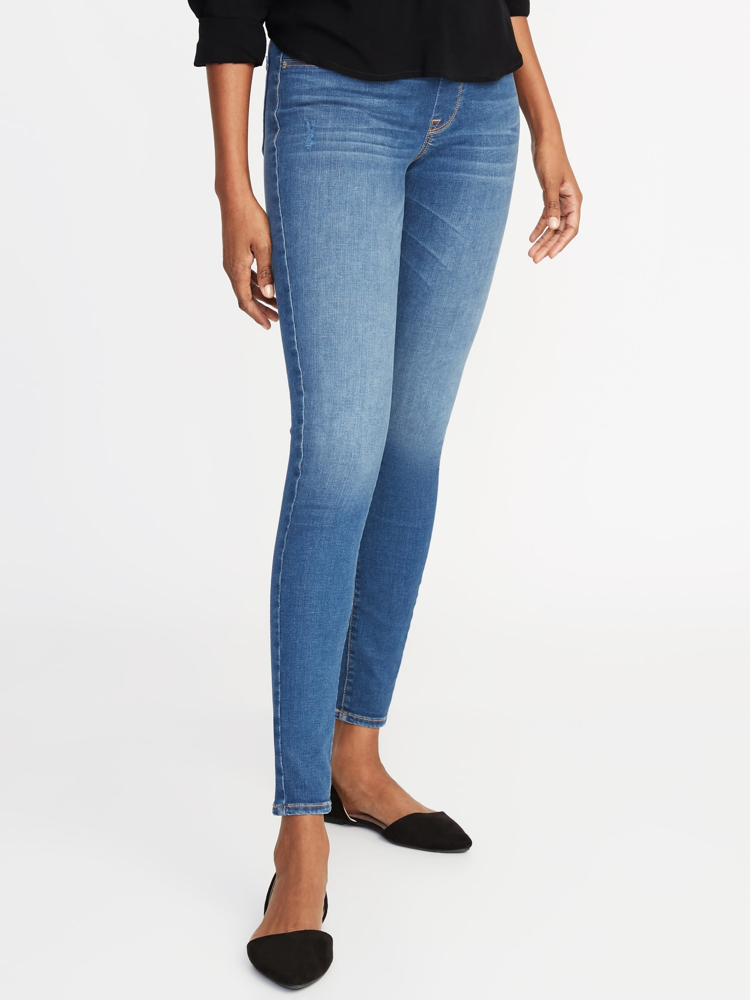 36acc24d88f19 Mid-Rise Built-In Sculpt Rockstar Jeggings for Women | Old Navy