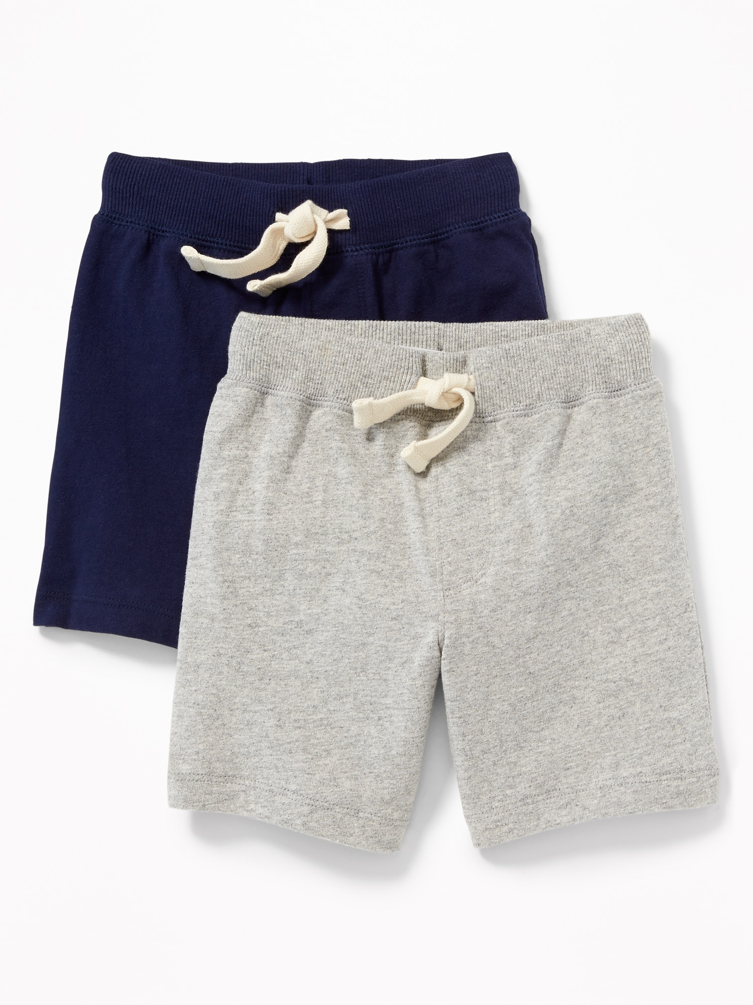 83ee9e558b Functional Drawstring Jersey Shorts 2-Pack for Toddler Boys | Old Navy