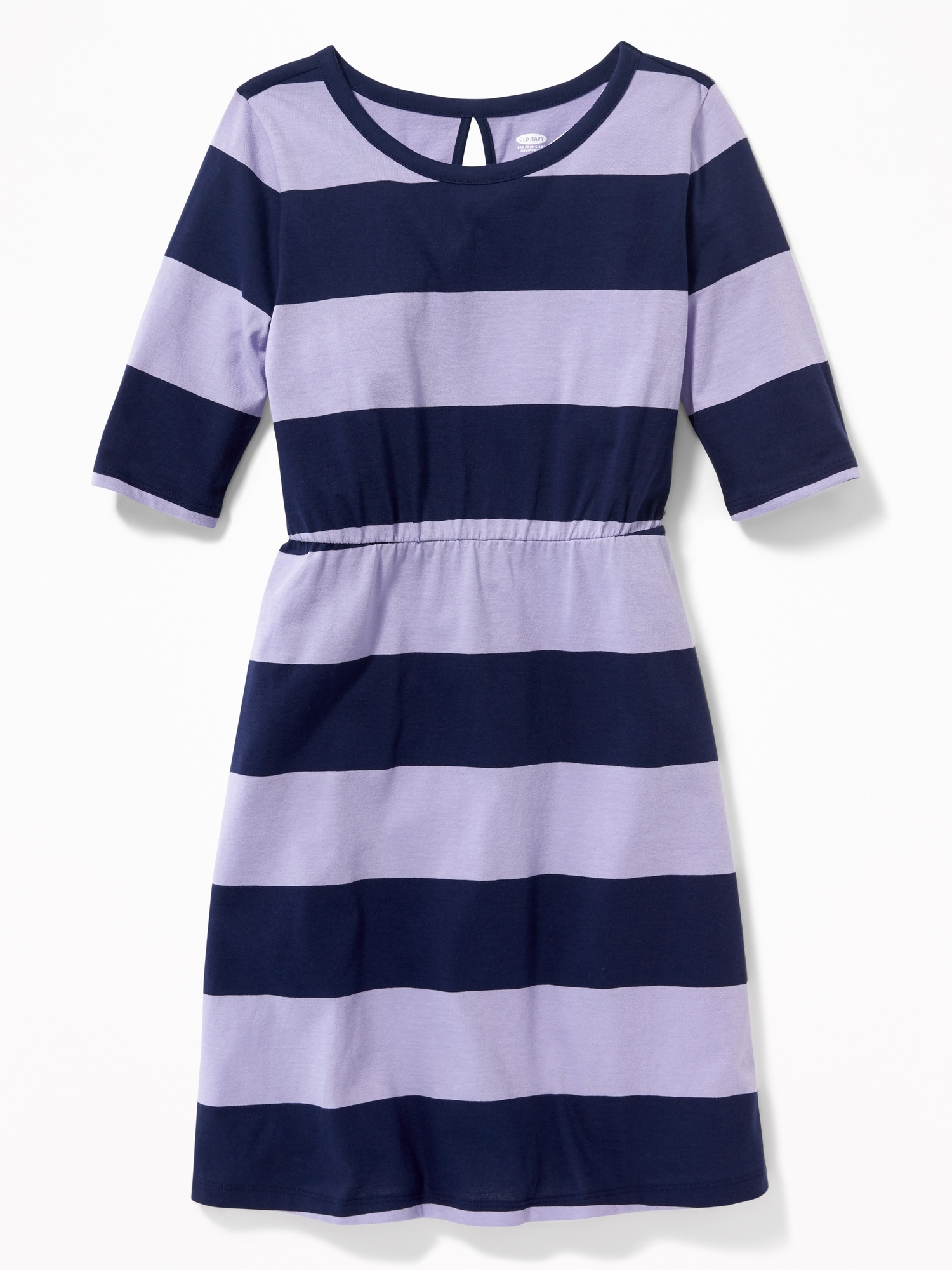 0a403a539 Printed Jersey Fit   Flare Dress for Girls