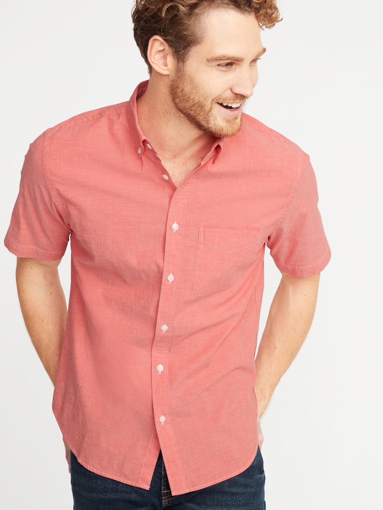 2f63320053d63 Slim-Fit Built-In Flex Everyday Shirt for Men
