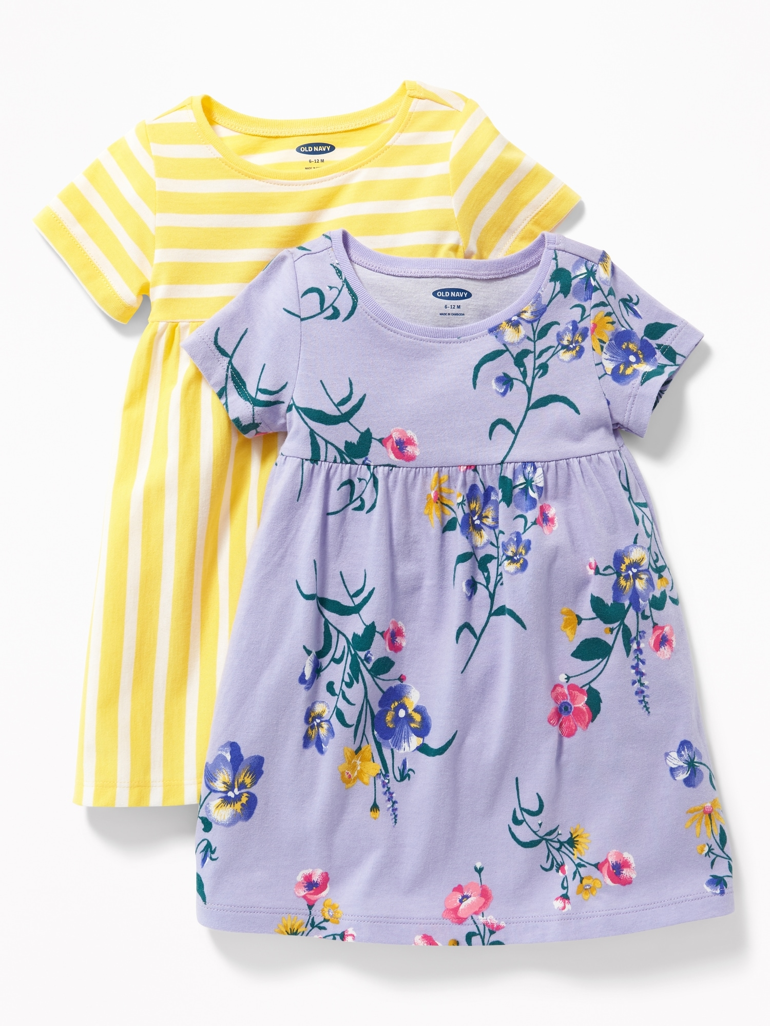 d662cc17d52 2-Pack Jersey Dress for Baby