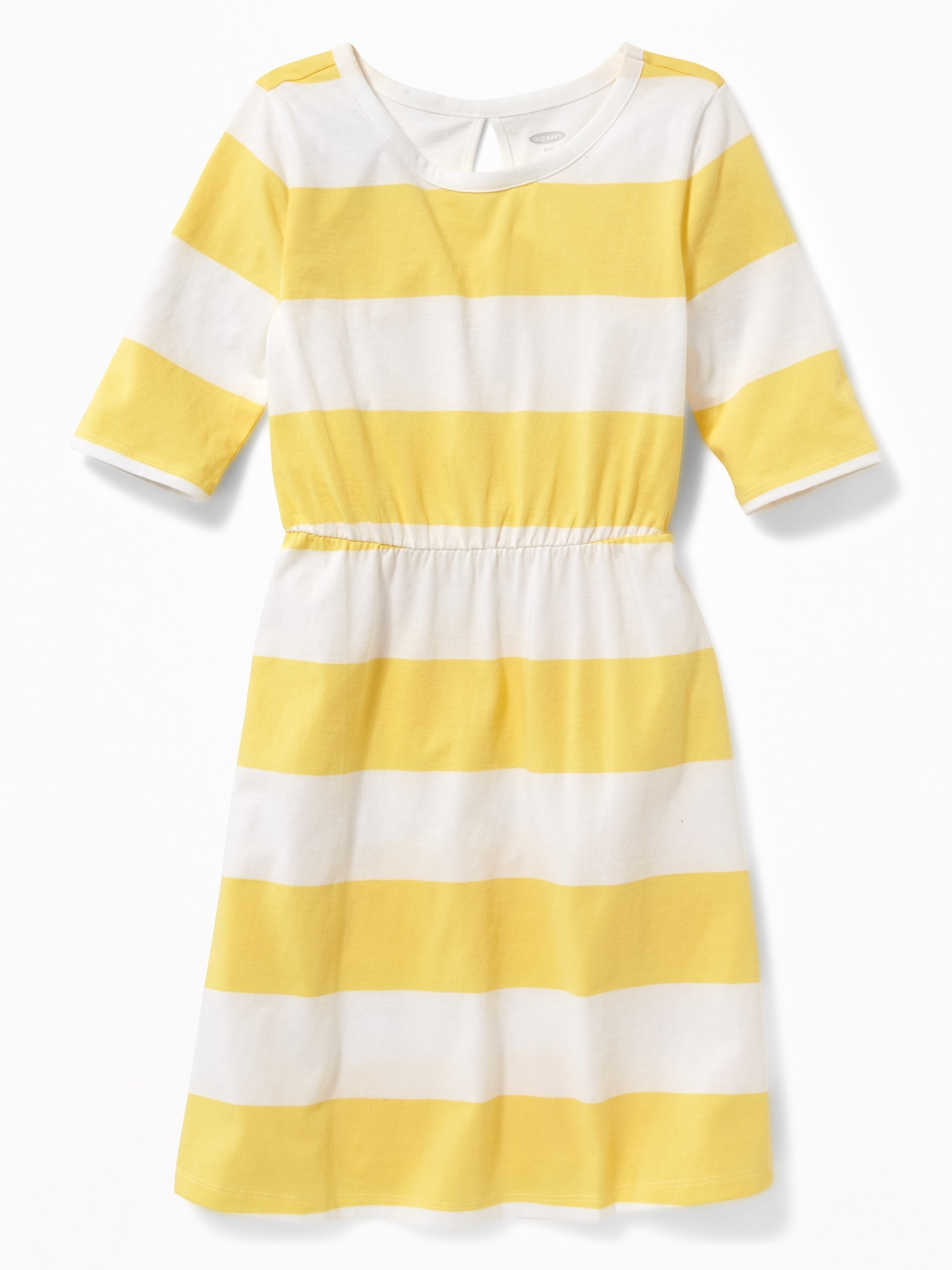 3ae2e23783b79 Printed Jersey Fit   Flare Dress for Girls