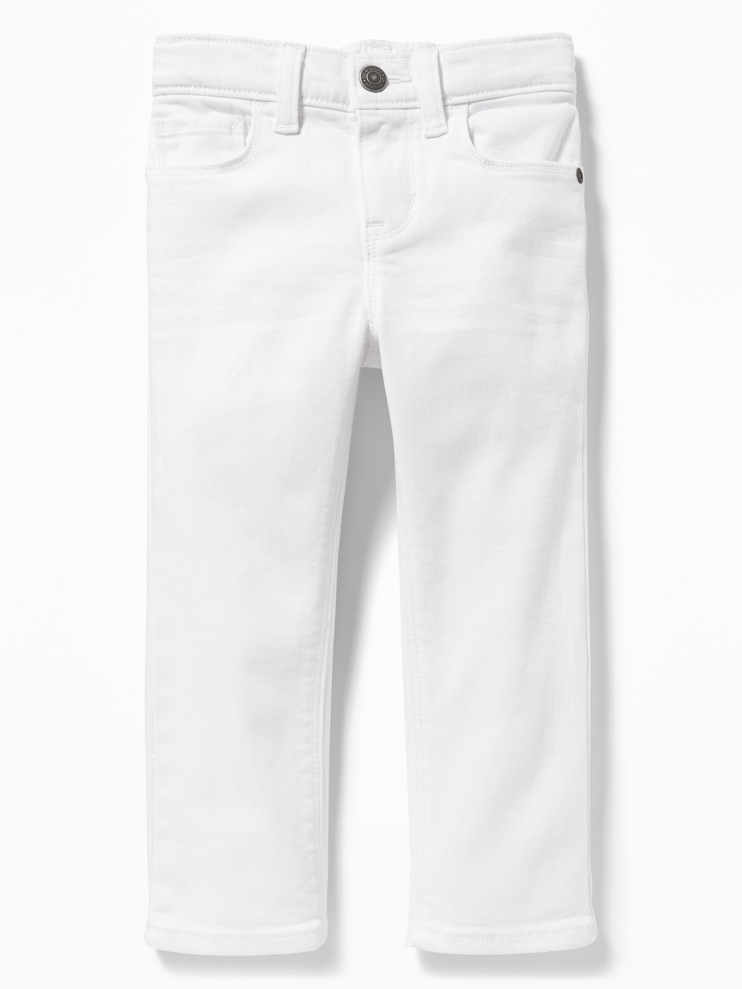 a7a43233cff Karate Built-In Flex Max Skinny White Jeans for Toddler Boys