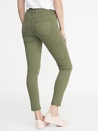 e9d82690e5 Mid-Rise Pop-Color Rockstar Super Skinny Jeans for Women | Old Navy