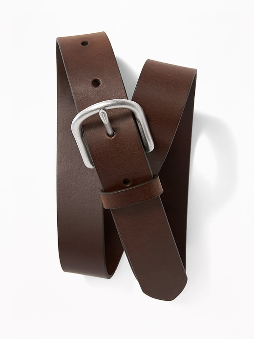 Leather Belt for Boys
