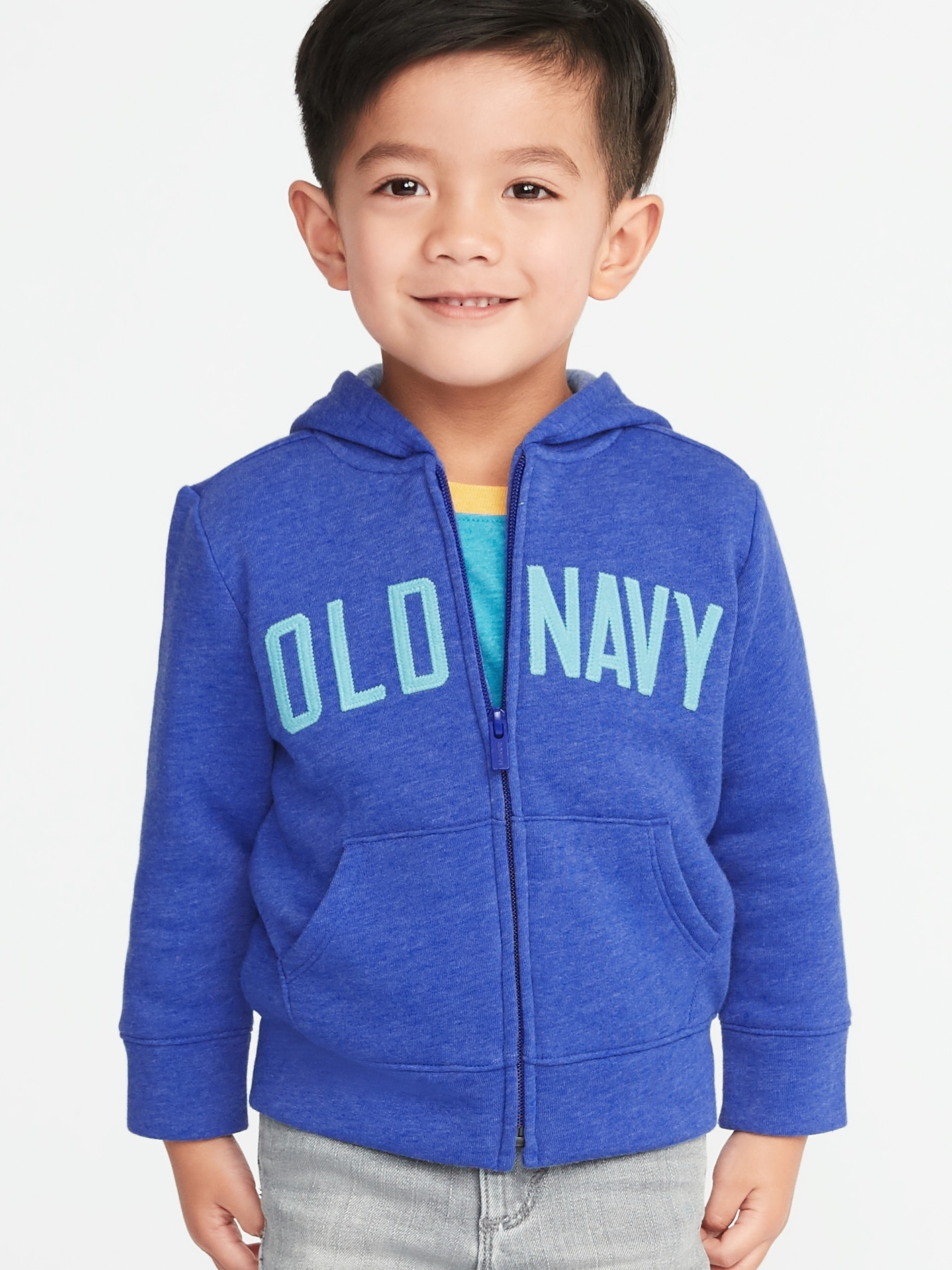 8e629861417 Logo-Graphic Zip Hoodie for Toddler Boys