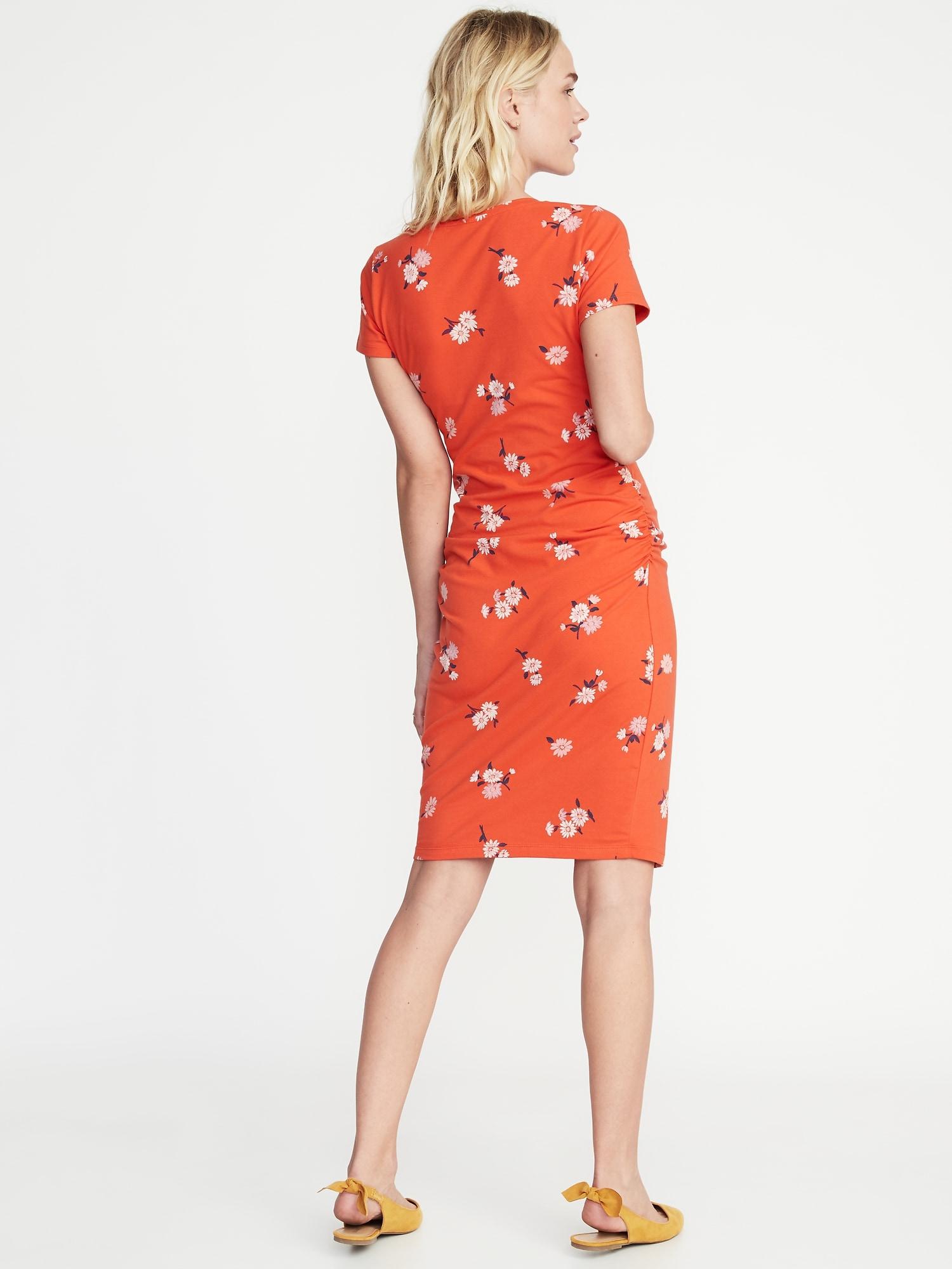 87f623f8483 Maternity Jersey Bodycon Dress
