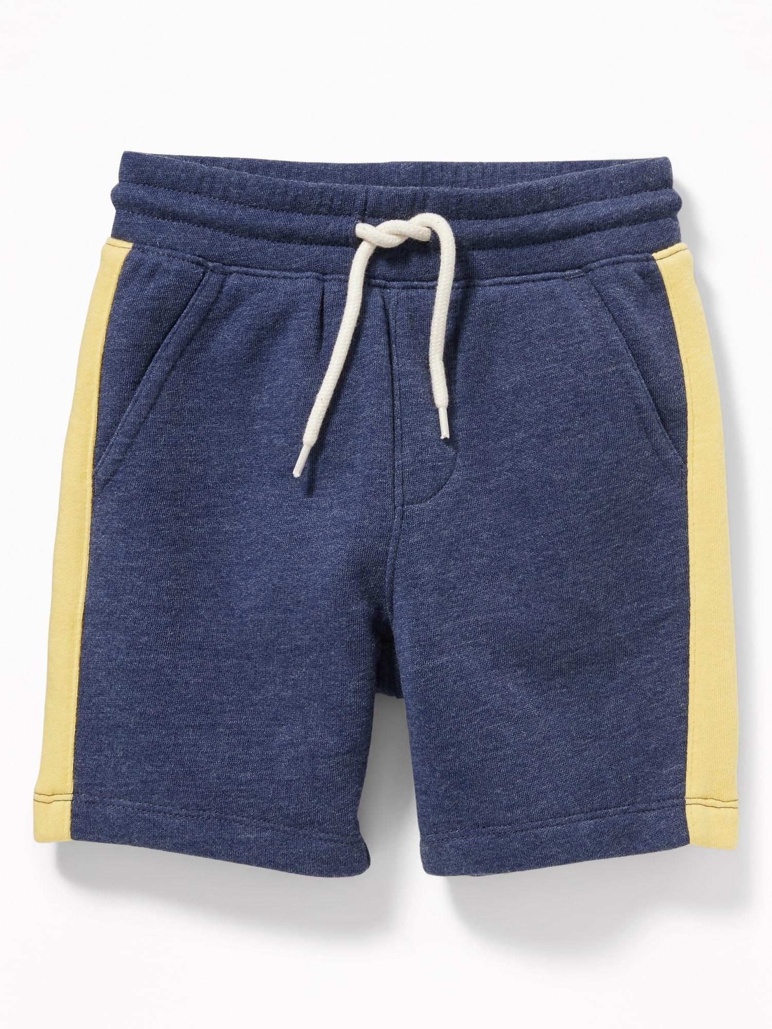 6fef25742cc Functional Drawstring Side-Stripe Jogger Shorts for Toddler Boys ...