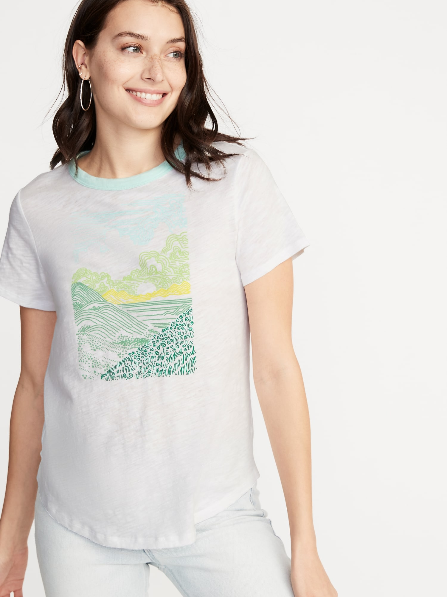 d5bbfd145 EveryWear Graphic Tee for Women
