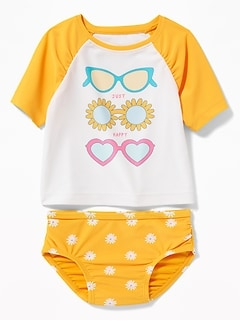 02342745eeb6c Graphic Swimsuit for Toddler Girls | Old Navy
