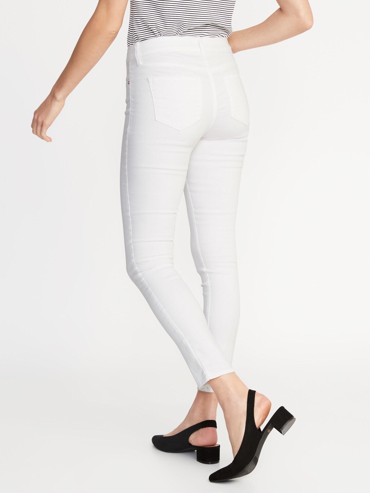 cf2c50e986 White Super Skinny Ankle Jeans for Women