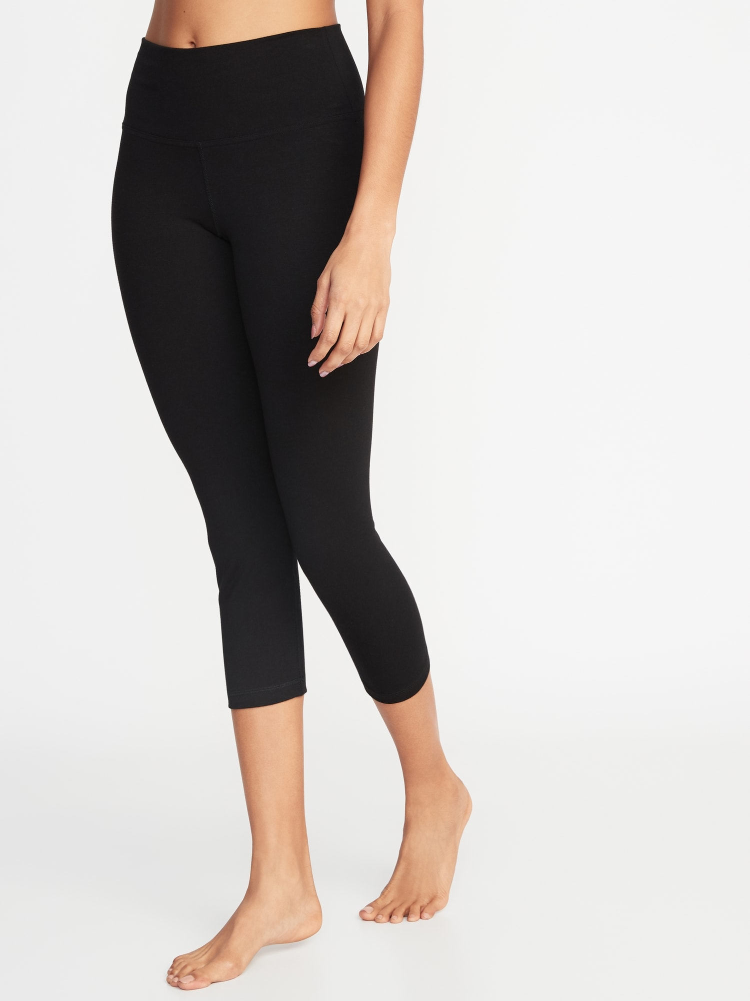 c3564cf61bc42a High-Rise Yoga Crops for Women | Old Navy