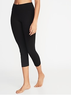 High-Waisted Balance Crop Leggings For Women